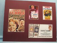Shirley Temple - Captain January & Dimples & First Day Cover of her own stamp