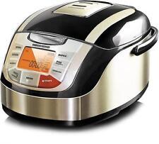 #Redmond 5 L multi cocina con calefacción 34 programas mantener caliente 3D RMC-M4502E Negro