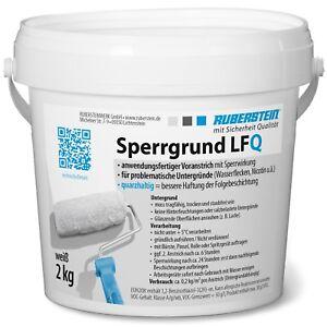 Ruberstein® Sperrgrund LFQ weiß 2 kg