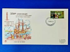More details for gb first day cover 1 apr 1970 - southampton - pilgrim fathers 350th anniv. ob1