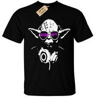 DJ YODA Mens T-Shirt SCREEN PRINTED star trooper music storm wars design