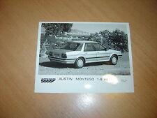 PHOTO DE PRESSE ( PRESS PHOTO )  Austin Rover  Montego 1.6 HL  R0100