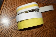 Martial Arts Belts- Tae Kwon Do, Karate, Yellow and White Lot Of 3