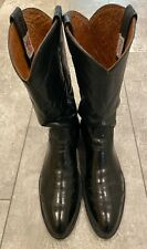Mens Black Leather Nocona Boots size 10B