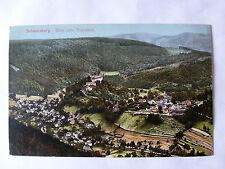 AK Postkarte Schwarzburg Trippstein Thüringer Wald antik 1910 farbig