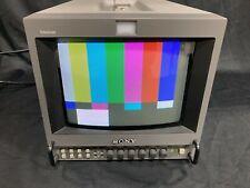 SONY PVM-8042Q TRINITRON COLOR BROADCAST VIDEO MONITOR