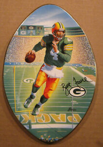 BRETT FAVRE THE BRADFORD EXCHANGE COLLECTOR PLATE 3 DEGREES TO VICTORY PACKERS