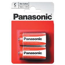 Panasonic C Le batterie zinco carbonio R14RZ Battery Pack/alcaline 1.5 V/2 CONF.