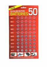 Nuevo Reloj de célula botón 50 baterías Surtidos AG 1/3/4/10/12/13 Sellado