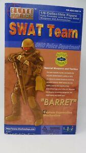 BBI Elite Force SWAT Team 1/6 Action Figure Barret - Boxed