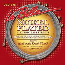 La Bella 767-6N Bass VI Strings - Nickel Roundwound