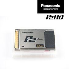 Panasonic Card AJ-P2E032XG | 32 GB P2-Speicher-Karte E-Series schnell MwSt.-Rng.