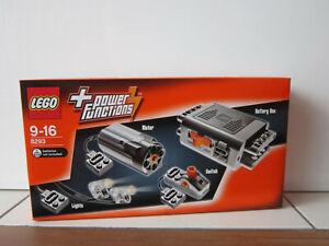 LEGO 8293 Power Functions Ensemble moteur Motor Set NEUF NEW SEALED