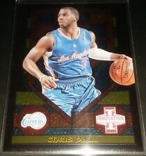 Chris Paul 2013-14 Panini Innovation STAINED GLASS GOLD Parallel Insert Card