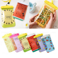 Fruit Underwater Waterproof Mobile Phone Pouch Case Dry Bag Cover iPhone Samsung
