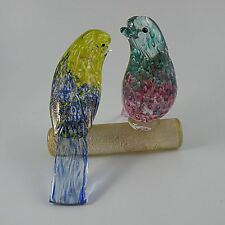 Barovier and Toso Murano Birds on a Perch 1950