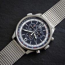 Men's Eco Citizen-drive Cronografo Quadrante Blu Orologio alimentato a luce