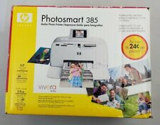 Brand New HP Photosmart 385 GoGo Compact Digital Photo Inkjet Printer Open Box