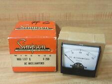 Simpson 1227 Analog Panel Meter