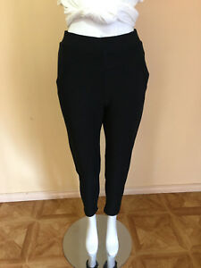 WomenLadies Winter Straight Leggings Pants + Fleece Lined Stretchable size S-3XL