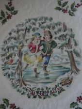 Royal Doulton Christmas Plate #1 in Series 1977 Vintage