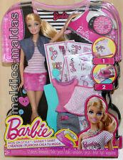 Barbie Bügelbild-Designer T-Shirt BDB32 NEU/OVP Puppe