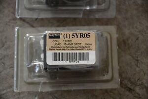 New Dayton 5YR05 Plug In Relay