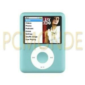Apple iPod nano A1236 8 GB 3rd Generation - Blue/Turquoise - VGC (MB249LL/A)