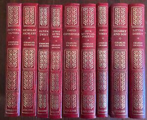 Charles Dickens Bulk Set x9 1980's Collins Hardcover Books