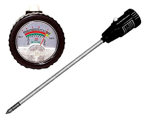 Soil pH and Moisture Meter with Probe - ZD06