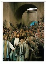 Postcard: Passionsspiele Oberammergal 2000 - Jesus enters Jerusalem