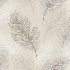 Whisper Plume Papier Peint-taupe-ARTHOUSE 669802 fonction Wall Decor Gratuit P + P