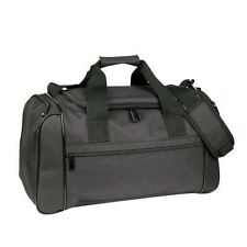 """20"""" Duffle Duffel Bag Deluxe Sports Travel Gym Bag Luggage in Black"""