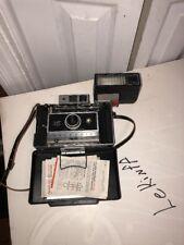 Polaroid Land 360 Camera  365 Flash, Zeiss viewfinder -