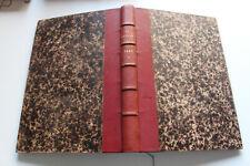 revue LA NATURE - TISSANDIER / PARVILLE - album relié, 1887 semestre 2
