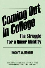 Coming out in College: The Struggle for a Queer Identity-ExLibrary