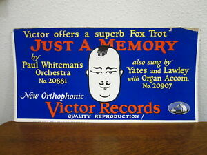 Paul Whiteman Victor Records Sign