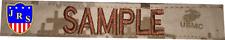 Nametape Namensstreifen USMC MARPAT / MARPAT Desert - Mit Ihrem Namen