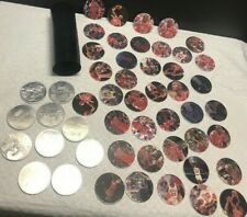 Micheal Jordan 1995  Pog lot 50 Pogs and container