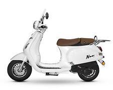 Retro Roller Mofa 25 45 KmH Motorroller 50 49 ccm Moped weiß Scooter NEO 2017