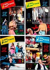 IN LIKE FLINT Italian fotobusta photobusta movie posters set x10 JAMES COBURN NM