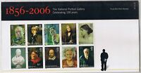 GB Presentation Pack 386 2006 National Portrait Gallery