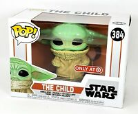 "Funko POP Mandalorian The Child Baby Yoda Star Wars TARGET Exclusive ""Sad Face"""