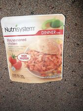 Nutrisystem 6 BBQ Seasoned Chicken DINNERS dinner