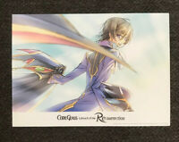 Code Geass Lelouch of the Resurrection Promo 🚨 Mini Poster Post Card New 5x7