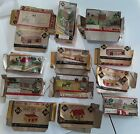 Vtg. HO PLASTICVILLE USA Empty Boxes ONLY Used/Bent/Flattened Farm Town Railroad