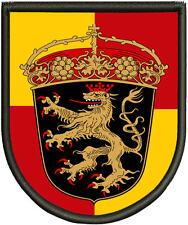 Wappen mit dem Pfälzer Löwen Patch, Aufnäher, Pin, Premium  Aufnäher