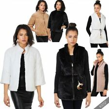 Faux Fur Bolero, Shrug Solid Coats & Jackets for Women