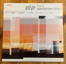 El-P Sunrise Over Bklyn 10 Inch Single Sided Vinyl Record