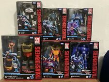 Transformers Studio Series 86 Lot (Hot Rod, Grimlock, Kup, Jazz, Blurr, Scourge)